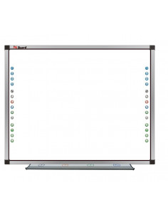 Aula Digital PDI IRN82 IQboard + Proyector BENQ MX808ST + Soporte Pared