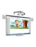 Aula Digital SMART BOARD Pizarra Digital SBM680 + Proyector Optoma X305ST + Soporte + Altavoces + Caja Conexiones