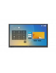 """Pantalla Táctil Newline RS Display Interactivo LED 75"""" 4K 20 Toques, Android 8.0"""