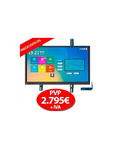 "Pack Display Interactivo Newline RS 75"" + OPS + Soporte"