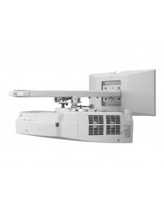 Aula Digital PDI IRN82E3 IQboard Acero Vitrificado + Proyector Ultra corto NEC UM301X+ Soporte