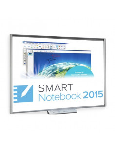 "Pizarra digital de 77"" Smart Board M680V"