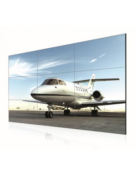 """LG 55LV35A pantalla de señalización 139,7 cm (55"""") LED Full HD Pantalla plana para señalización digital Negro - Imagen 1"""