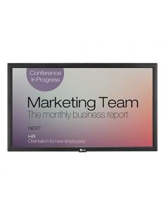 "LG 22SM3B pantalla de señalización 54,6 cm (21.5"") LCD Full HD Pantalla plana para señalización digital Negro - Imagen 1"