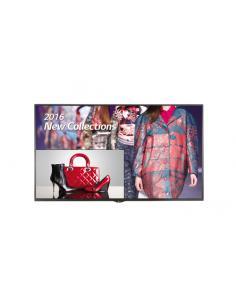 "LG 49UH5C pantalla de señalización 124,5 cm (49"") 4K Ultra HD Pantalla plana para señalización digital Negro - Imagen 1"