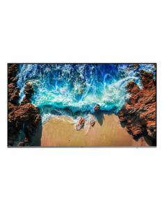 "Samsung LH82QENELGC pantalla de señalización 2,08 m (82"") 4K Ultra HD Negro, Plata - Imagen 1"