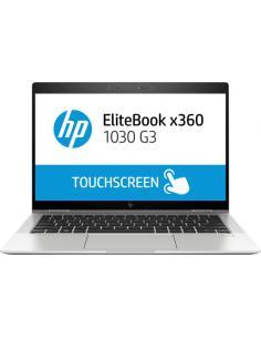"HP EliteBook x360 1030 G3 Plata Híbrido (2-en-1) 33,8 cm (13.3"") 1920 x 1080 Pixeles Pantalla táctil 8ª generación de procesador"