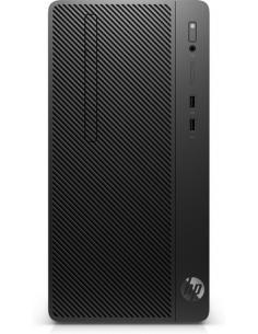 HP Pro A AMD Ryzen 5 PRO 2400G 8 GB DDR4-SDRAM 1000 GB Unidad de disco duro Negro Micro Torre PC - Imagen 1