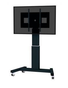 "Newstar PLASMA-M2500BLACK soporte de pie para pantalla plana 2,54 m (100"") Soporte de suelo con ruedas para pantalla plana Negro"