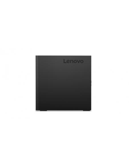Lenovo ThinkCentre M720 8ª generación de procesadores Intel® Core™ i7 i7-8700T 8 GB DDR4-SDRAM 256 GB SSD Negro Mini PC - Imagen