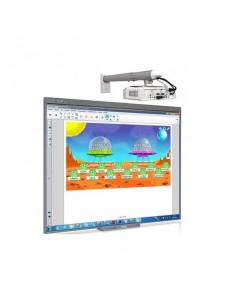 Aula Digital SMART BOARD Pizarra Digital 480 + Proyector BENQ MX808ST + Soporte + Altavoces+ Caja conexiones