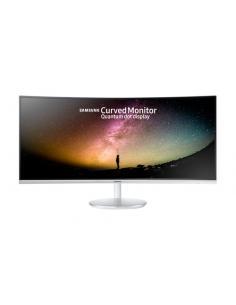 """Samsung C34F791WQU LED display 86,4 cm (34"""") 3440 x 1440 Pixeles WQHD Curva Mate Blanco - Imagen 1"""