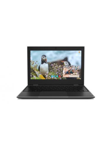 "Lenovo 100e 2nd Gen Negro Portátil 29,5 cm (11.6"") 1366 x 768 Pixeles Intel® Celeron® N4100 4 GB LPDDR4-SDRAM 128 GB eMMC - Imag"