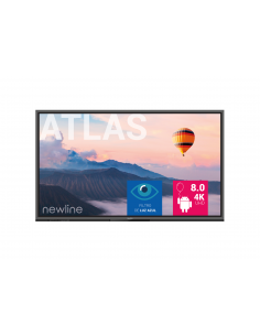 "Monitor Interactivo Newline serie Atlas de 65"" 4K Android 8.0"
