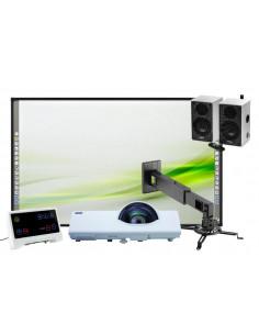 Kit Pizarra Digital Starboard FX79 + Proyector Maxwell MC-CX301+ Accesorios