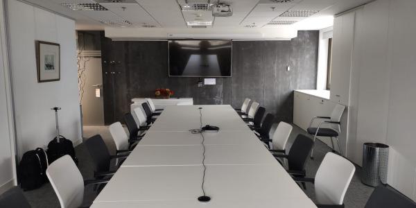 Instalación Sistema de Videoconferencia en Ministerio Nacional