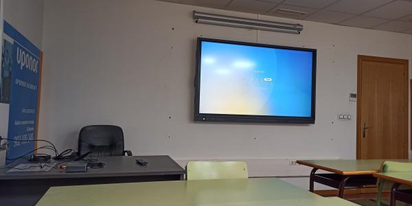 Instalación Aulas Formación Interactivas con Sistema de Videoconferencia en Agremia