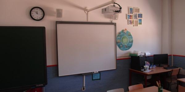 Instalación en colegio Santa Catalina de Majadahonda